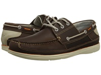 Dockers Yost Chocolate Oily Crazyhorse Men's Slip On Shoes Brown