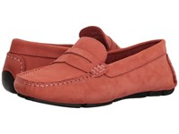 Massimo Matteo Penny Keeper Salmon Nubuck Moccasin Shoes Beige