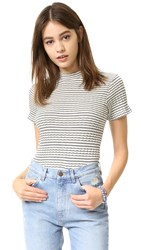 Mother Mock Neck Itty Bitty Tee French Tart
