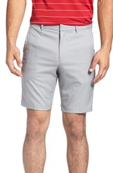 Bobby Jones Men's 'Tech' Flat Front Wrinkle Free Golf Shorts Graphite