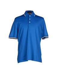 Paul And Shark Topwear Polo Shirts Men Blue
