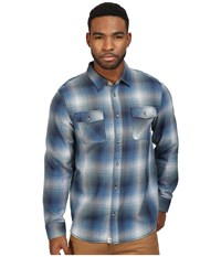 Vans Conroy Flannel Dress Blues North Atlantic Men's Clothing