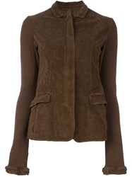 Rundholz Buttoned Jacket Brown