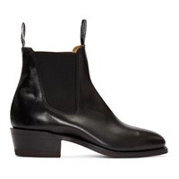 R.M. Williams Black The Yearling Boots