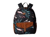 Roxy Carribean Backpack Anthracite Stormy Flowers Bags Black