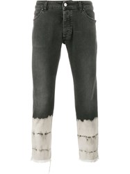 Palm Angels Cropped Jeans Black