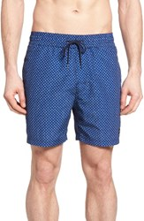 Jack Spade Men's Mosaic Tile Swim Trunks