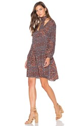 Sanctuary Autumn Fling Dress Navy