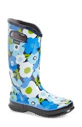 Women's Bogs 'Spring Flowers' Graphic Print Waterproof Rain Boot