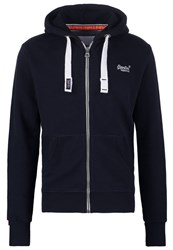 Superdry Tracksuit Top Eclipse Navy Blue