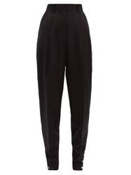 Altuzarra Atomica Wool Blend Tapered Trousers Black