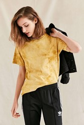 Urban Renewal Remade Uneven Dyed Tee Mustard