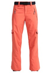 O'neill Star Cargo Trousers Burnt Sienna Coral