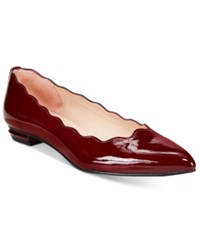French Sole Fs Ny Tequila Flats Women's Shoes Wine Patent