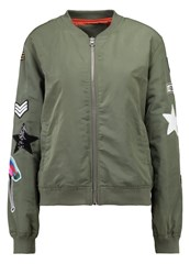 Kengstar Bomber Jacket Military Khaki