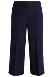 Banana Republic Trousers Navyblue Dark Blue