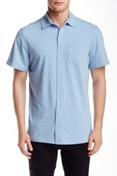 Spenglish Short Sleeve Snap Button Shirt Gray