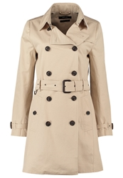 Opus Helly Trenchcoat Washed Wood Beige