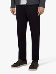 Ted Baker Clenchi Slim Fit Chinos Navy Blue