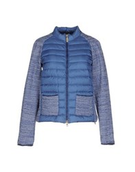 Geospirit Coats And Jackets Down Jackets Women Pastel Blue