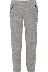 Lna Pesh Marled Knit Sweatpants Gray