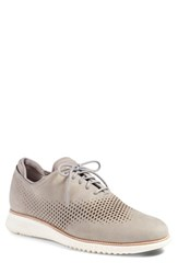 Cole Haan Men's '2.0 Grand' Plain Toe Oxford Ironstone Nubuck Ivory