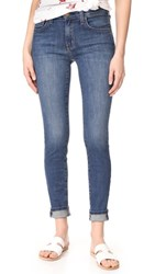 Current Elliott High Waisted Skinny Jeans Ellis