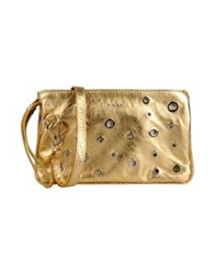 Pinko Handbags Gold