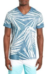 Men's Sol Angeles 'Ghost Palm' Graphic V Neck T Shirt