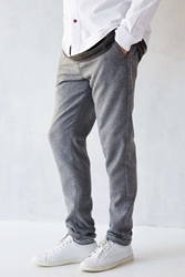 Cpo Woolen Awesome Skinny Fit Chino Pant Grey