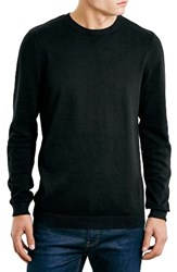Topman Men's Cotton Twist Crewneck Sweater