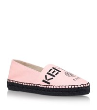 Kenzo Canvas Espadrilles Female Pink