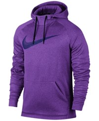 Nike Men's Therma Training Hoodie Court Purple