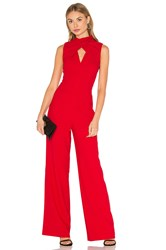 Trina Turk Contessa Jumpsuit Red