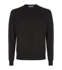 Ralph Lauren Purple Label Cashmere Sweater Black