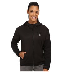 Puma Winterized Zip Hoodie Black Women's Coat