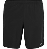Patagonia Nine Trails Stretch Shell Running Shorts Black