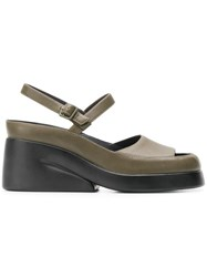 Camper Kaah Sandals Green