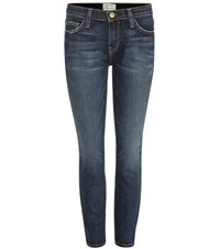 Current Elliott The Stiletto Cropped Skinny Jeans Blue