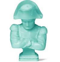 Cire Trudon Napoleon Bust Candle Turquoise