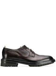 Officine Creative Lace Up Derby Shoes Brown