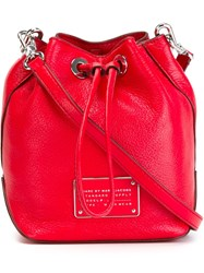 Marc By Marc Jacobs 'New Too Hot To Handle Drawstring' Crossbody Bag Red