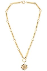 Foundrae Aether 18 Karat Gold Multi Stone Necklace