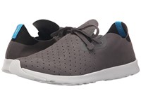 Native Apollo Moc Dublin Grey Jiffy Black Shell White Shoes