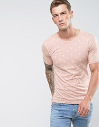 Only And Sons T Shirt Misty Rose Pink