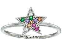 Marc Jacobs Something Special Rainbow Star Ring Silver Ring