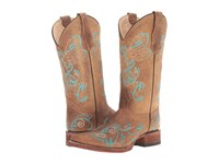 Corral Boots L5123 Tan Turquoise Women's Brown