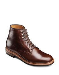 Allen Edmonds Higgins Hill Leather Ankle Boots Brown