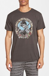 Obey 'Your Time Vintage Thrift' Graphic T Shirt Graphite