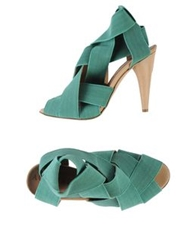 Acrobats Of God Sandals Green